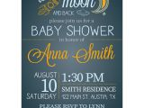 Love You to the Moon and Back Baby Shower Invitations Love You to the Moon and Back Baby Shower Invitations