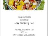 Low Country Boil Party Invitations Awesome Low Country Boil Party Invitations