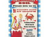 Low Country Boil Party Invitations Low Country Boil Party Invitation 5 Quot X 7 Quot Invitation Card
