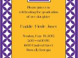 Lsu Party Invitations Graduation Invitations Invitations and Lsu On Pinterest