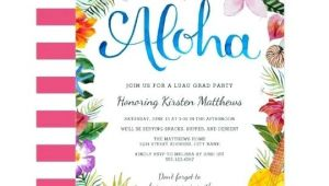 Luau Party Invitations Walmart Graduation Reception Invitation Meichu2017 Me