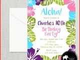 Luau Party Invitations Walmart Luau Invites 32401 Aloha Invitation Hawaiian Invitation