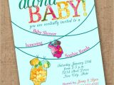 Luau themed Baby Shower Invitations Tropical Esie Luau Baby Shower Invite by Lovesweetpeacards