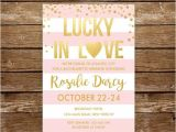 Lucky In Love Bridal Shower Invitations Lucky In Love Bridal Shower Invitation atlantic City