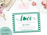Lucky In Love Bridal Shower Invitations Lucky In Love Bridal Shower Invitation St Patrick S Day