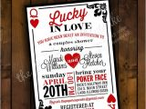 Lucky In Love Bridal Shower Invitations Printable Bridal Shower Invitation Design Lucky In Love