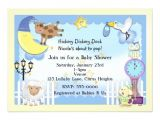 Lullaby Baby Shower Invitations Nursery Rhyme Lullaby Baby Shower Invitations