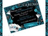 Lush Party Invitations Casino Party Invitations Casino Lush Casino Birthday