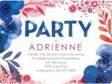 Lush Party Invitations Lush Bouquet Adult Birthday Party Invitations In Capri
