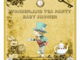 Mad Hatter Tea Party Baby Shower Invites 12 Cool Mad Hatter Tea Party Invitations