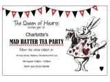 Mad Hatter Tea Party Birthday Invitations Mother Daughter Tea Mad Hatter theme Invitations Google