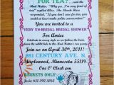 Mad Hatter Tea Party Bridal Shower Invitations Items Similar to Mad Hatter Tea Party Wedding Shower