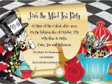 Mad Hatter Tea Party Invitation Template Mad Hatter Tea Party Quotes Quotesgram