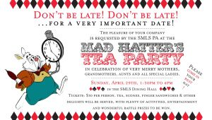 Mad Hatters Tea Party Invitation Ideas Mad Hatter Tea Party Invitations