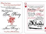 Mad Hatters Tea Party Invitations Free Templates Mad Hatter Tea Party Invitations