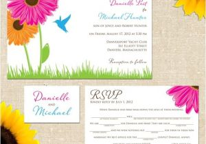 Mad Lib Wedding Invitation Danielle Wedding Invitation with Mad Lib by