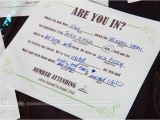 Mad Lib Wedding Invitation Diy Elegant Barn Wedding Smarty Had A Party Blog