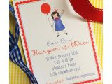 Madeline Birthday Party Invitations Madeline Birthday Invitation