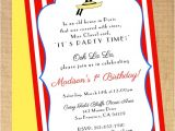 Madeline Birthday Party Invitations Madeline Birthday Shower Invitation Printable