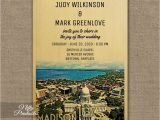 Madison Wi Wedding Invitations Madison Wedding Invitation Printed Nifty Printables