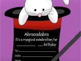Magic Birthday Party Invitation Template 14 Printable Birthday Invitations Many Fun themes