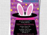 Magic Party Invites Girl Magic Party Invitation Katarina 39 S Paperie