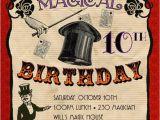 Magic Party Invites Magic Party Invitation