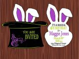 Magic Party Invites Magic Party Printable Collection Mimi 39 S Dollhouse