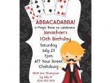 Magic Show Birthday Party Invitation Template Magic Show 5×7 Paper Invitation Card Zazzle