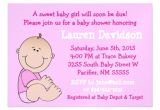 Magnet Invitations Baby Shower Baby Girl Pink Baby Shower Magnetic Invitation Zazzle