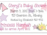 Magnet Invitations Baby Shower Princess theme Baby Shower Invitation Magnets and Cards
