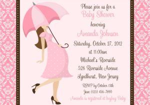 Make A Baby Shower Invitation Online Baby Shower Invitations for Girls