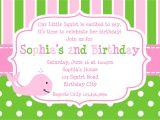 Make A Party Invitation Card How to Design Birthday Invitations Free Invitation