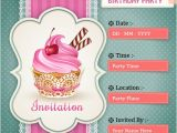Make An Invitation Card for Birthday Party Create Birthday Party Invitations Card Line Free