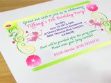 Make An Invitation Card for Your Birthday Party Creatively How to Make Party Invitations theruntime Com