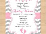 Make Baby Shower Invitations Online for Free to Print Free Printable Chevron Baby Shower Invitations