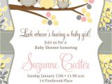 Make Baby Shower Invitations Online for Free to Print Free Printable Owl Baby Shower Invitations