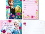 Make Birthday Invitations at Walmart Hallmark Party Disney Frozen Invitations with Envelopes