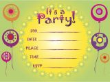 Make Birthday Party Invitations Online for Free to Print Free Printable Party Invitations Online Cimvitation