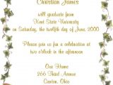 Make Graduation Party Invitations Tips Easy to Create Graduation Party Invitation Wording