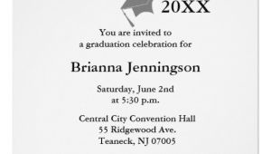 Make My Own Graduation Invitations for Free Create Your Own Graduation Invitation 3 Zazzle