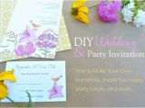 Make My Own Party Invitations Make Your Own Birthday Invitations Free Template Resume
