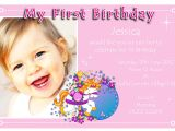 Make Your Own 1st Birthday Invitations 1st Birthday Party Invitations