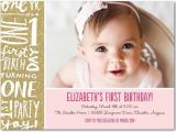 Make Your Own 1st Birthday Invitations Best Collection First Birthday Party Invitations for