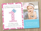 Make Your Own 1st Birthday Invitations First Birthday Invitation Wording Ideas – Bagvania Free