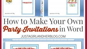 Make Your Own Birthday Party Invitations Free Online Make Your Own Party Invitations Party Invitations Templates