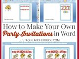 Make Your Own Graduation Invitations Free Online Make Your Own Party Invitations Party Invitations Templates