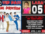 Make Your Own One Direction Birthday Invitations Items Similar to 02 One Direction Printable Birthday