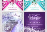 Make Your Own Quinceanera Invitations Quinceanera Invitations with Easy to Edit Templates to