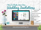 Make Your Own Wedding Invitations Online Free Wedding Invitation Best Of How to Print My Own Wedding